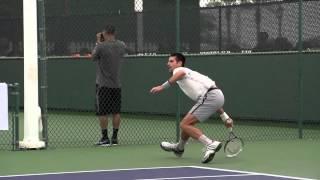 Novak Djokovic Ultimate Slow Motion Compilation   Forehand   Backhand   Serve   2013 Indian Wells