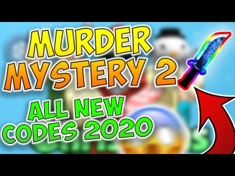 Murder Mystery 2 All Codes 2020 January