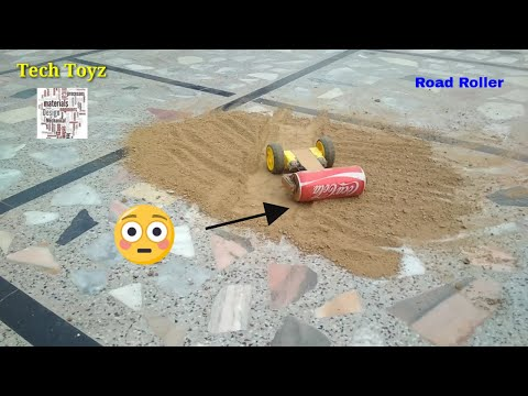 How to making a Road Roller at Home | DIY amazing Ideas | Tech Toyz Videos