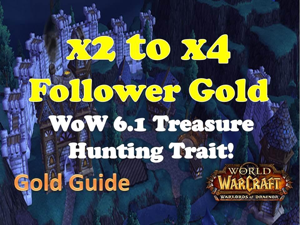 Wow 61 garrison treasure hunter trait gold guide wod youtube malvernweather Gallery