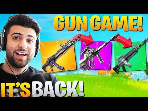 *NEW* GUN GAME Mode In Chapter 2! (Fortnite Battle Royale)