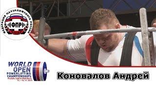Коновалов Андрей  Чемпионат Мира по пауэрлифтингу 2017