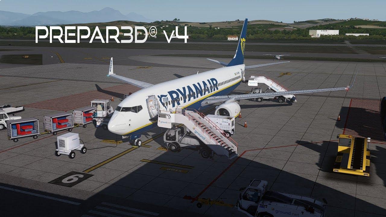 Prepar3D v4 3 | Pescara to Malta | LIBP-LMML | PMDG 737-800NGX WL | P3D