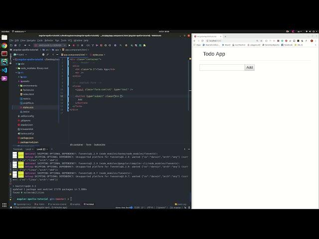 03-สร้าง UI ง่ายๆ โดยใช้ Bootstrap