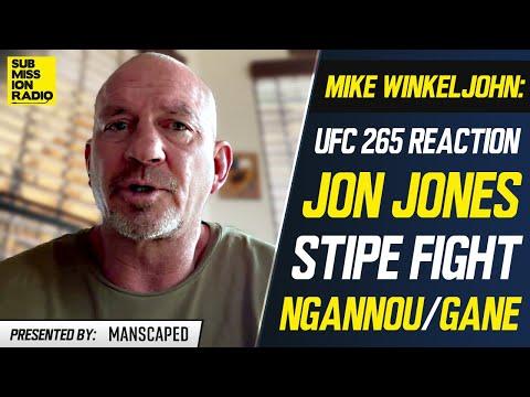 "Jon Jones' Coach: Stipe Miocic Fight ""Doesn't Make Sense""; Calls Ngannou, Gane ""Very Beatable"""