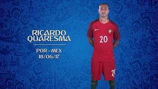 VOTE BEST GOAL: Ricardo Quaresma (POR) v Mexico