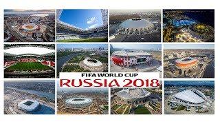 Расписание матчей Чемпионата Мира по футболу 2018 по городам.