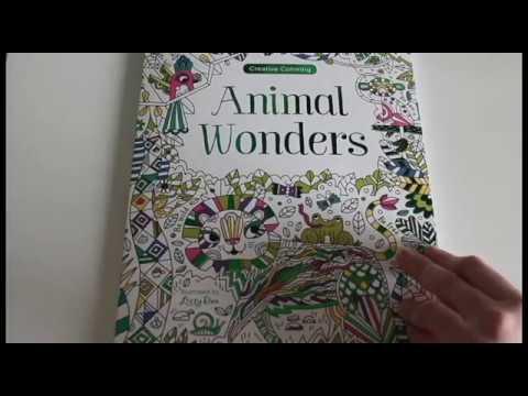 Artherapieca Review Of Animal Wonder Coloring Book