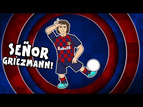 🔴señor-griezmann!🔵-1st-day-at-barcelona-for-antoine-griezmann!-(feat.-messi-&-neymar)