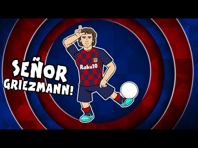 🔴Señor Griezmann!🔵 1st Day at Barcelona for Antoine Griezmann! (Feat. Messi & Neymar)