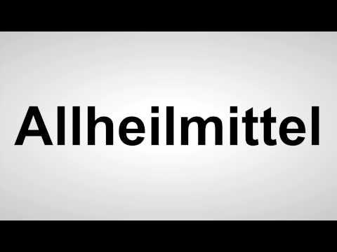 Allheilmittel - Deutsche