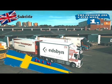 A kamionos egy napja Svédországban 1.