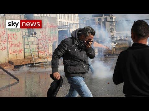 Lebanon government wins confidence vote despite protests