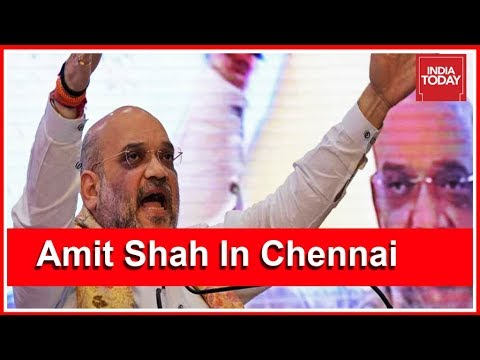 BJP Prez Amit Shah In Chennai Today Ahead Of 2019 General Elections