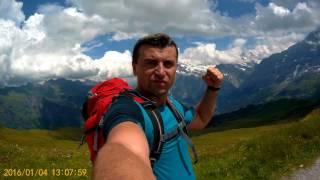 Männlichen 2230 m,Swiss Alps