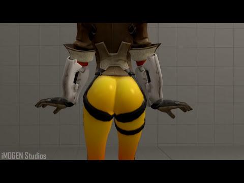 Download [SFM] Tracer Twerking Big Ass Overwatch Animation