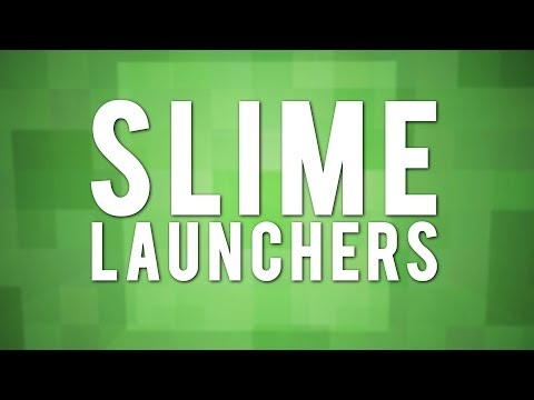 Quick And Easy: Slime Block Launchers!