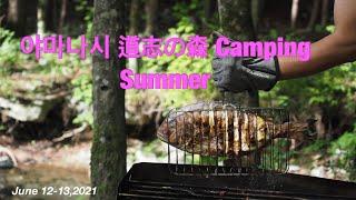 道志の森여름 맞이 캠핑 道志の森