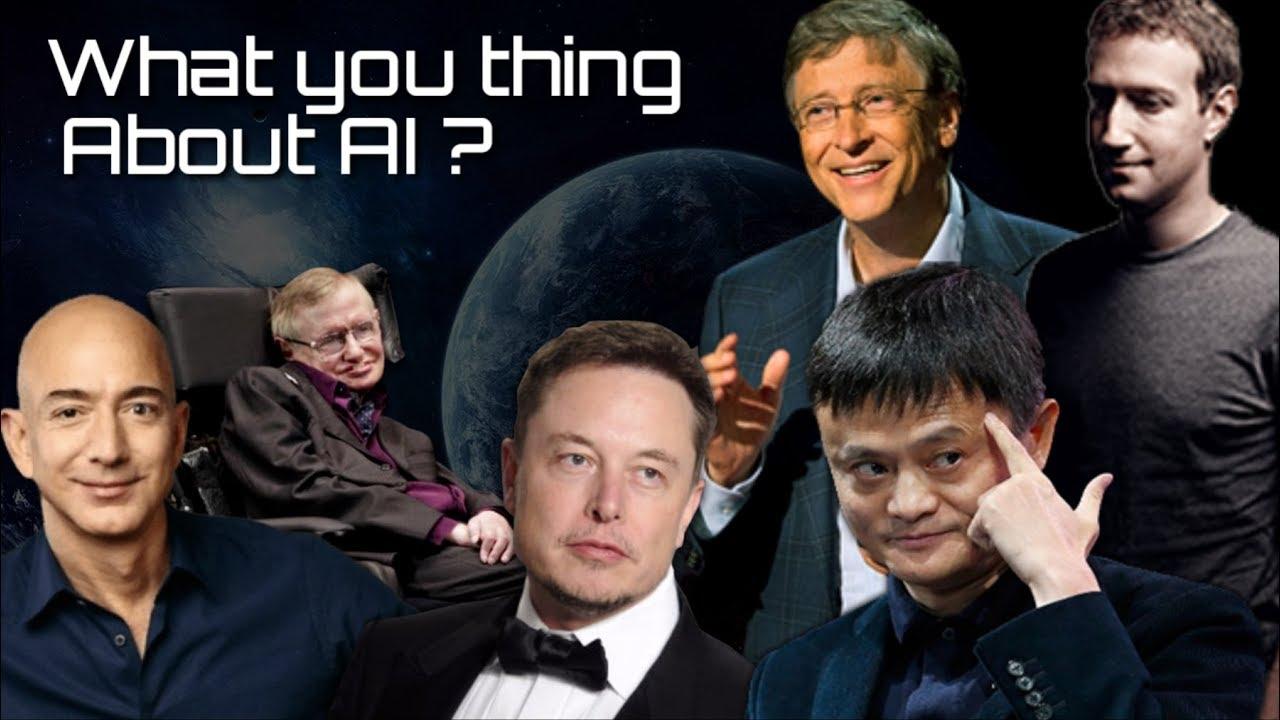 """""""AI"""" ฆาตกร หรือ ผู้สร้างสรรค์ ความคิดที่แตกต่างของเหล่า CEO !!!"""