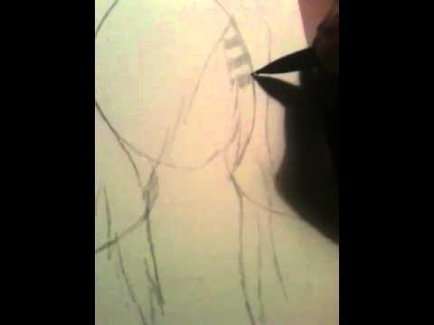 draw emo scene hair