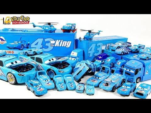 Disney PIXAR Cars Lightning McQueen Mack Truck Dinoco Carry Case Car Play For Kids Car Toys