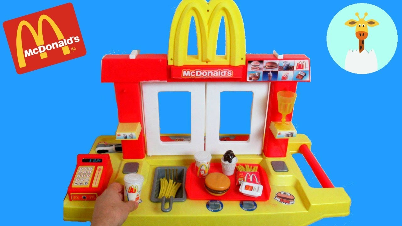 Mcdonalds Kitchen Set