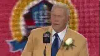 2013 Hall of Fame Inductee: Coach Bill Parcells Hall of Fame Enshrinement Speech