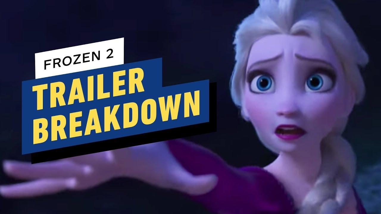 Frozen 2 - Trailer 2 Panne + video