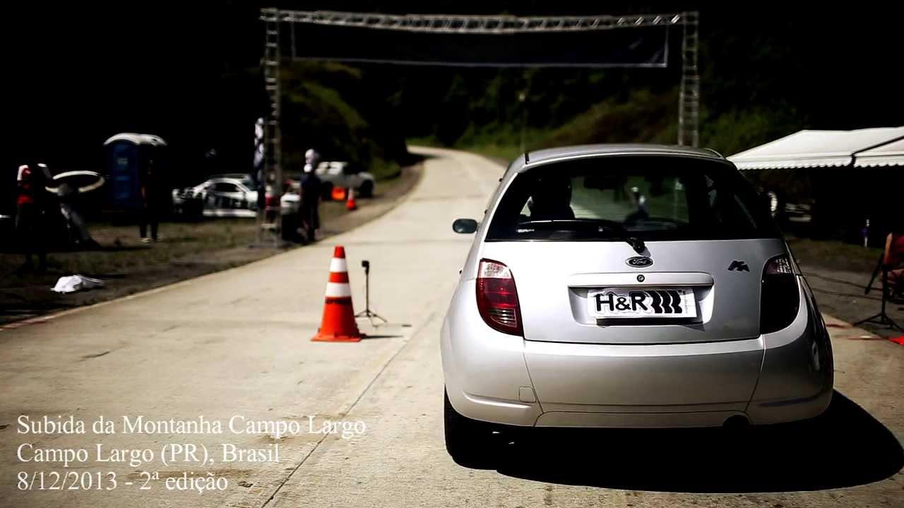 A Subida Da Montanha Campo Largo  Ford Ka Xr