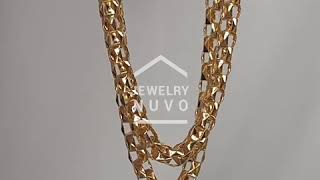 Jewelry NUVO Square Connection Chain Bracelet 01
