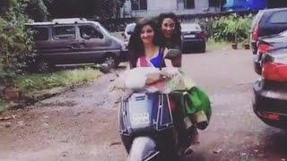 Loveleen Kaur Sasan AKA Paridhi's Scooty Ride   #TellyTopUp