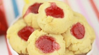 Jam Drops (thumbprint Cookie) - Recipe By Zatayayummy