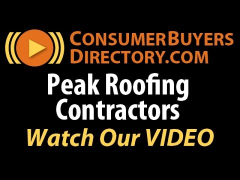 Roof Installation Manassas VA   Peak Roofing Contractors