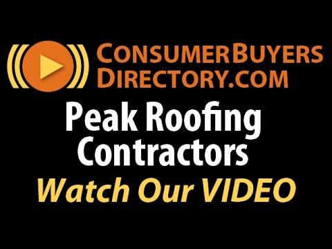 Roof Installation Manassas VA - Peak Roofing Contractors