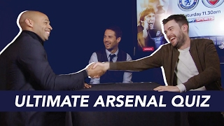 Thierry Henry v Jack Whitehall | ULTIMATE ARSENAL QUIZ!