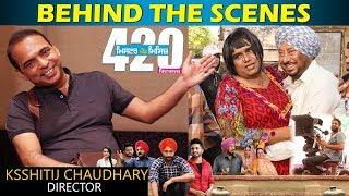 BEHIND THE SCENES | Mr and Mrs 420 Returns | Ksshitij Chaudhary | Ranjit bawa | Jassie gill| Making