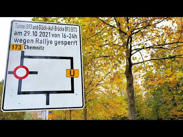 AvD-Sachsen-Rallye - Einschränkungen im Straßenverkehr