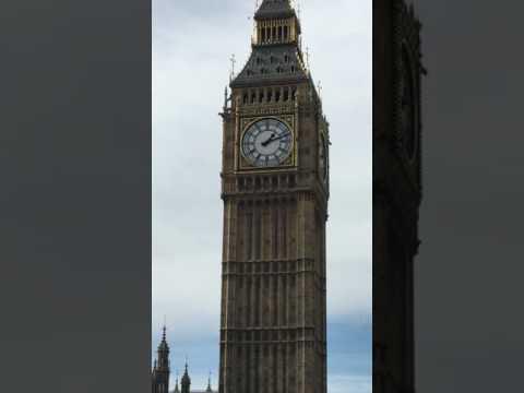 Big Ben London. Organic video #BigBen