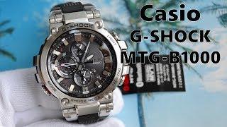 Обзор Casio G-Shock MTG-B1000-1AJF Bluetooth / Новые MTG с Baselworld 2018 / Модель 2018 года