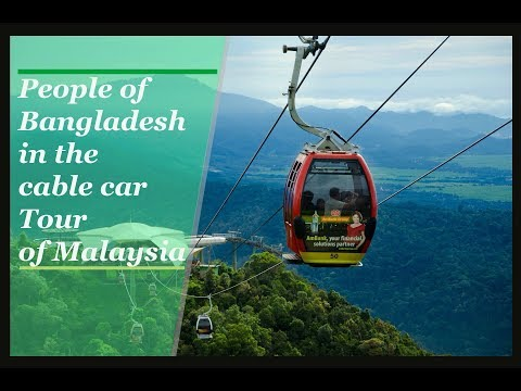 Genting Skyway | Cable Car Tour | Malaysia | The True Beauty of Nature