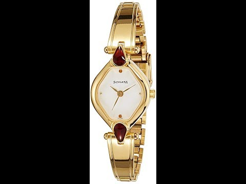 Branded Sonata Analog womens watches in best price