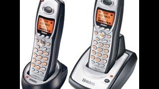 Uniden TRU-8806-2 5.8 GHz 2 x Cordless Phone System - 2160p 4K HD
