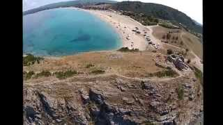 Flying over Sithonia - Halkidiki - Older Video - Part 1(Aerial views of the most beautiful beaches and sites at Sithonia Halkidiki / Macedonia / Greece Part 1., 2014-08-10T08:07:54.000Z)