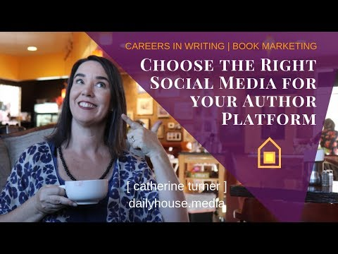 choose-the-right-social-media-for-your-author-platform