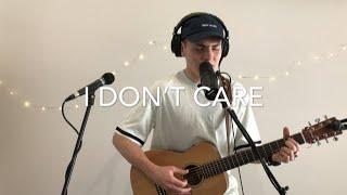 Ed Sheeran Justin Bieber I Don 39 t Care Live Acoustic Loop Cover.mp3