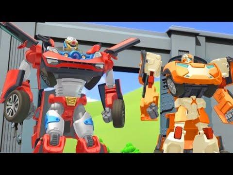 Тоботы новые серии - 23 Серия 2 сезон - мультики про роботов трансформеров [HD]