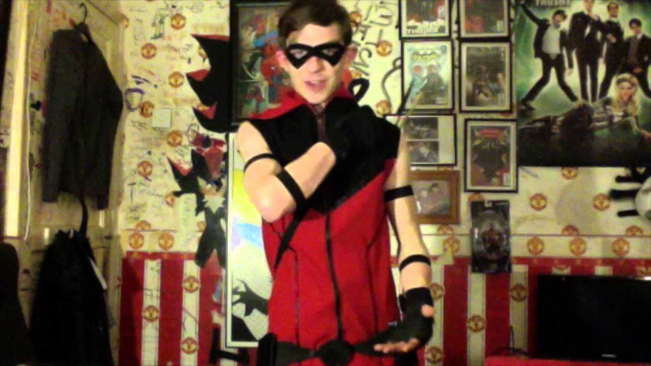 how to make a red arrow costume youtube