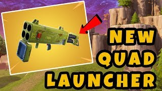 NEW *QUAD LAUNCHER* - Fortnite Funny Moments and High Skill Clips #5