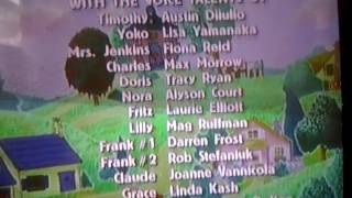 Timothy Goes to School End Credits (Qubo Version, 2017)