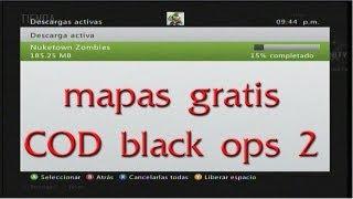 Como conseguir los mapas de COD Black ops 2 gratis!!! sin transferencia de licensias